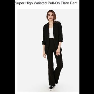🔥Just In🔥 NWOT🔥 Black Express pull up trousers